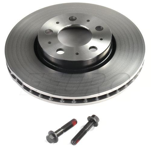 Заден спирачен диск вентилиран Volvo S60 (2011-2018), S80 (2007-), V60 (2011-2018), V70 (2008-), XC70 (2008-) 31341483